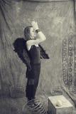 Dark Soul Woman Royalty Free Stock Images