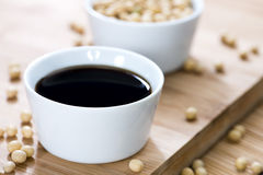 Dark Soy Sauce Royalty Free Stock Photography