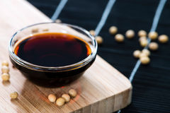 Dark Soy Sauce Royalty Free Stock Images