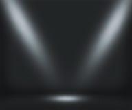 Dark Spotlight Room Background Stock Photo
