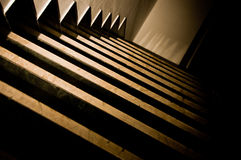 Dark Stairs 3 Stock Images