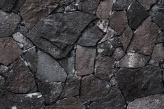 Free Dark Stone Wall Background. Grey Rock Texture In Retro Style. Brick Wall Backgrounds. Abstract Pattern. Gray Stones, Textured Surf Stock Photos - 159223713