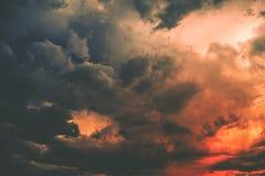 Dark Storm Cloud Royalty Free Stock Image