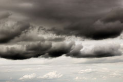 Dark storm clouds 1690 Stock Photo