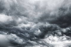 Dark storm clouds. Before rain Royalty Free Stock Photography