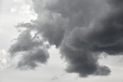 Dark stormy clouds Royalty Free Stock Photo