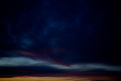 Dark stormy sky. Background - abstract Royalty Free Stock Photography