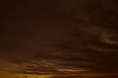 Dark stormy sky. Background - abstract Stock Images