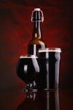 Dark stout beer Royalty Free Stock Photo