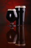 Dark stout beer Royalty Free Stock Image