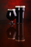 Dark stout beer Stock Photography