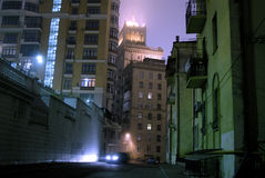 Dark street Stock Photography