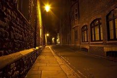 Dark Street Stock Photography