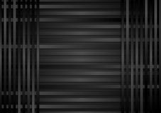 Dark stripes abstract background Royalty Free Stock Photo