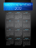 Dark style new year Stock Images