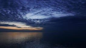 Dark Sunrise Time Lapse 05 stock video footage