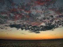 Dark Sunset Royalty Free Stock Photos