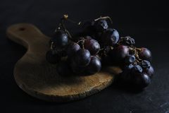 Dark sweet grape Royalty Free Stock Photos