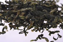 Dark tea--popular fermented tea in China. Tea, a famous and common beverage in the world, known as its catechin, tea polyphenol,caffeine,minerals and vitamins Royalty Free Stock Photos