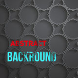 Dark Tech Abstract Background Stock Image