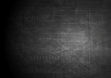 Dark technology grunge background Stock Images