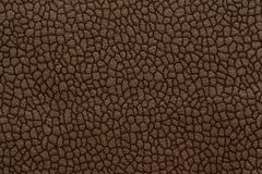 Dark textile background with ornamental surface. Brown textile texture. High resolution photo royalty free stock images