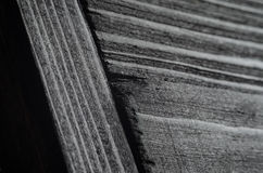 Dark texture of black shine wood. Joint of black wooden boards. Very dark texture of black shine wood Stock Images
