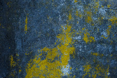 Dark texture of old plaster Stock Images