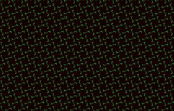 Dark texture of rhombus or seamless squares background, red maroon green blue grey black toned pattern Royalty Free Stock Photos