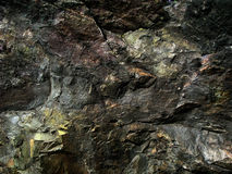 Dark texture Ural stone Royalty Free Stock Photography