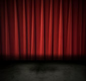 Dark theatre Royalty Free Stock Photo