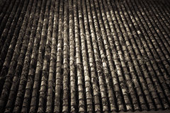 Dark Tile with heart Royalty Free Stock Photography
