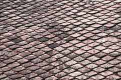 Dark tile roof texture background background Royalty Free Stock Image