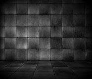 Dark Tiled Room Stock Photos