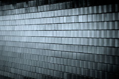 Dark Tiled Wall Royalty Free Stock Photo
