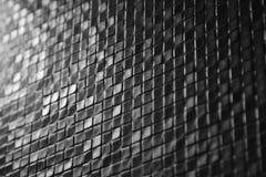 Dark tiles mosaic pattern Royalty Free Stock Images