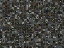 Dark tiles seamless wallpaper background Stock Photo