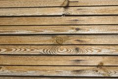 Dark timber wall background Stock Photography