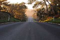 Dark to light road Royalty Free Stock Photography