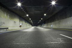 Dark tunnel Royalty Free Stock Photo