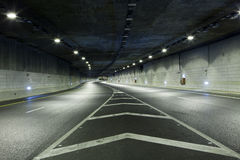 Dark tunnel royalty free stock image