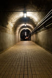 Dark Tunnel Stock Photo