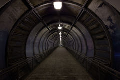 Dark tunnel Royalty Free Stock Photography
