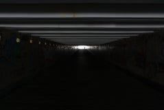 Dark_tunnel Zdjęcie Royalty Free