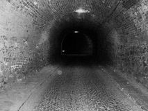 Dark tunnel Stock Photography
