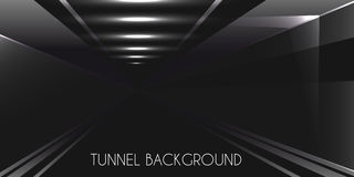 Dark Tunnel background Stock Images