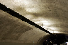 Dark Tunnel Ceiling Stock Image