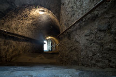 Dark tunnel Royalty Free Stock Images