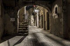 Dark Tunnel royalty free stock photos