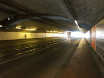 Dark tunnel Stock Images